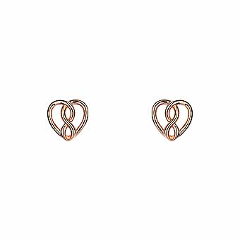 With Love - Infinite Love - Icons Earrings - Silver - Jewellery Gifts for Women from Lu Bella
