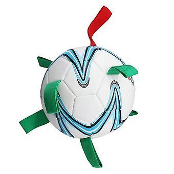 Pallone da calcio interattivo all'aperto giocattolo per cani