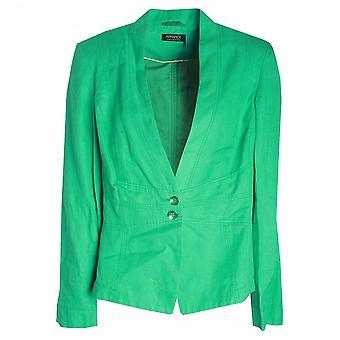 Apanage Women's Long Sleeve Blazer Style Jacket