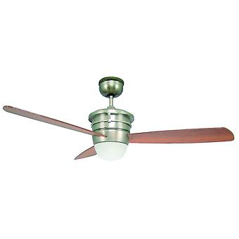 """Ceiling fan Sonata with light and remote 132cm / 52"""""""