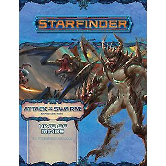 Starfinder Adventure Path: Hive of Minds (Attack of the Swarm! 5 af 6) af Thurston Hillman (Paperback, 2019)