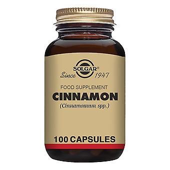 Cinnamon Solgar 500 mg (100 Capsules)