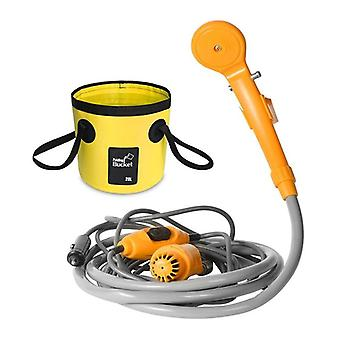 Portable Washer, Camping Shower, Dc Car High Pressure Power Electric Pump