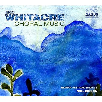 E. Whitacre - Eric Whitacre: Choral Music [CD] USA import