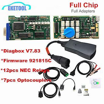 Chips completos Gold Edge Lexia3 PP2000 PSA XS Evolution Diagbox V7.83 Lexia para Citroen / Peugeot Super Firmware 921815C Lexia 3