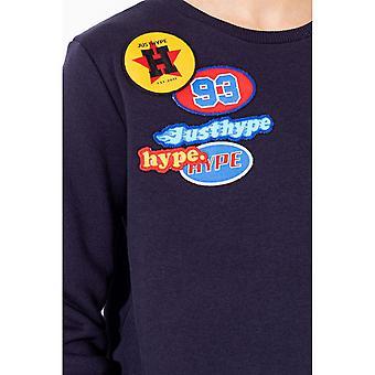 Hype Childrens/Kids American Oil Crew Neck Sweater