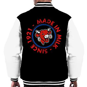 The Laughing Cow Made In Milk Men's Varsity Jacket