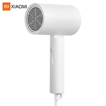 Portable Hair Dryer Negative Ion Hair Blow Dryer Hair Blower With Foldable Handle(White)