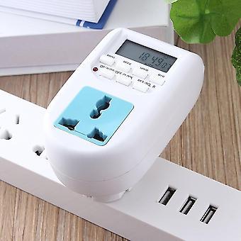 Timer di risparmio energetico digitale Timer elettronico programmabile Plug Eu Display