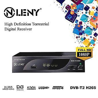 Dvb-t2 H.265 Full Hd 1080p High Definition Digitale Terrestrische Ontvanger