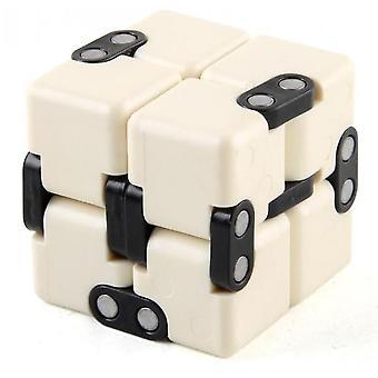 Voksne børn Ubegrænset Rubik's Cube Dekompression Vent Legetøj (Hvid)