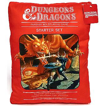 Dungeons & Dragons Red Box Shaped Pillow