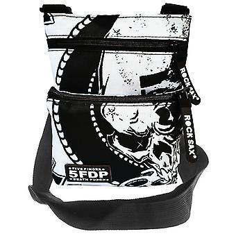 Rock Sax Five Fingered Death Punch Crossbody Bag