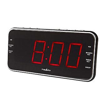 Radio-réveil numérique avec prise USB