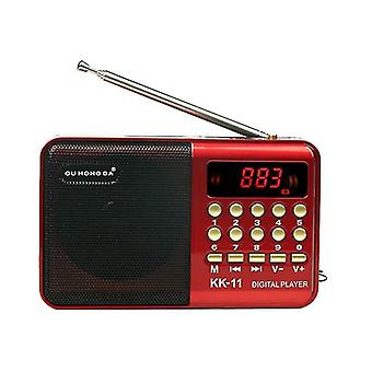 רדיו רמקולים אלחוטיים & נגן מוסיקה - רדיו מיני דיגיטלי רב תכליתי Fm