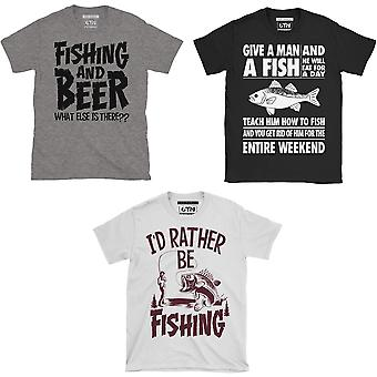 Funny fishing t shirts for men triple pack funny fishing gifts