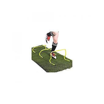 Optimum Sports Hurdles Set - Durable PVC Construction - Vibrant Yellow Finish -6