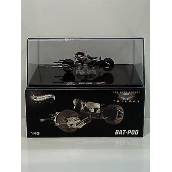 Batman The Dark Knight Rises Batpod Hot Wheels Elite X5495 Nouveau coffret