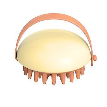 Shampooing pour cheveux Brosse Shampooing Masseur Brosse Exfoliant du cuir chevelu pour l'élimination des pellicules