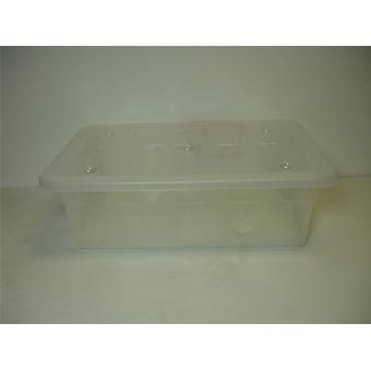 30ltr Eco Base Storage Box Clear