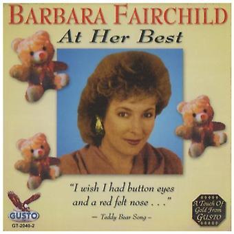 Barbara Fairchild - på hennes bästa [CD] USA import