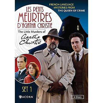 Les Petits Meurtres D'Agatha Christie: impostare 1 importazione USA [DVD]