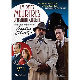 Les Petits Meurtres D'Agatha Christie: Set 1 [DVD] USA Import