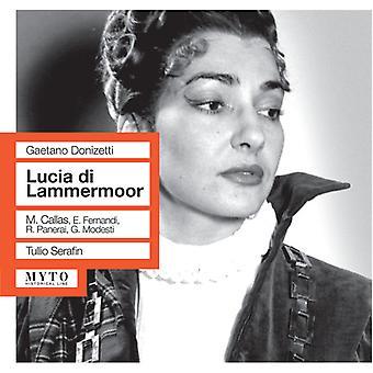 Donizetti / Callas / Panerai / Fernandi / Modesti - Lucia Di Lammermoor [CD] USA import