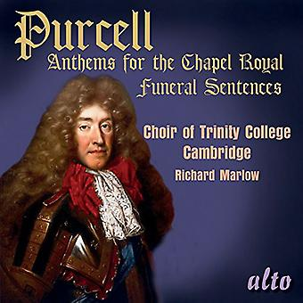 Choir of Trinity College, Cambridge/ Ric - Purcell: Anthems for the Chapel Royal [CD] USA import