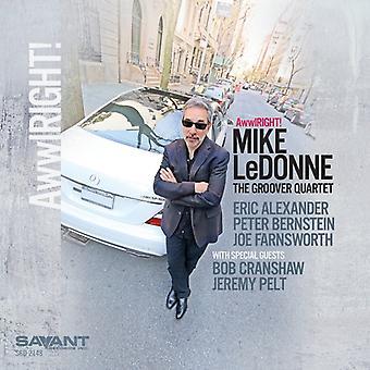 Mike Ledonne - Awwlright! [CD] USA import