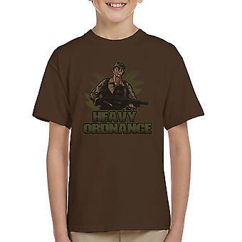 Zware Ordnance Jorge Poncho Ramirez Predator Kid's T-Shirt