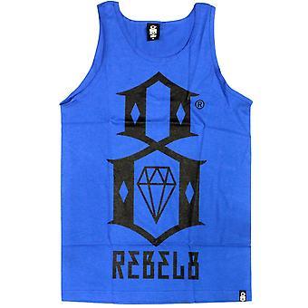 Rebel8 logotipo Tank Top Royal