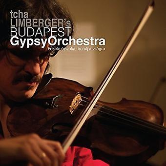 Budapest Gypsy Orchestra de Tcha Limberger - Fekete Ejszaka Borulj uma importação EUA Vilagra [CD]
