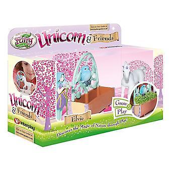 My Fairy Garden Unicorn and Friends play set