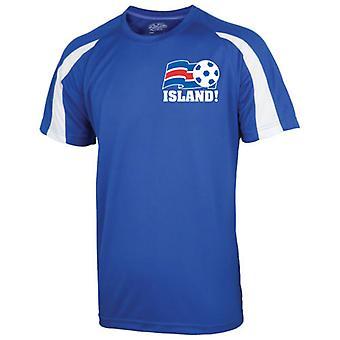2016-17 Islande Sport Training Jersey (Kids)