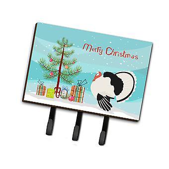 كارولين BB9355TH68 الكنوز النخيل الملكي تركيا عيد الميلاد المقود أو حائز المفتاح