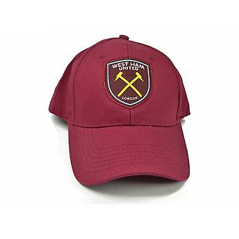 West Ham FC Official Football Baseball Cap
