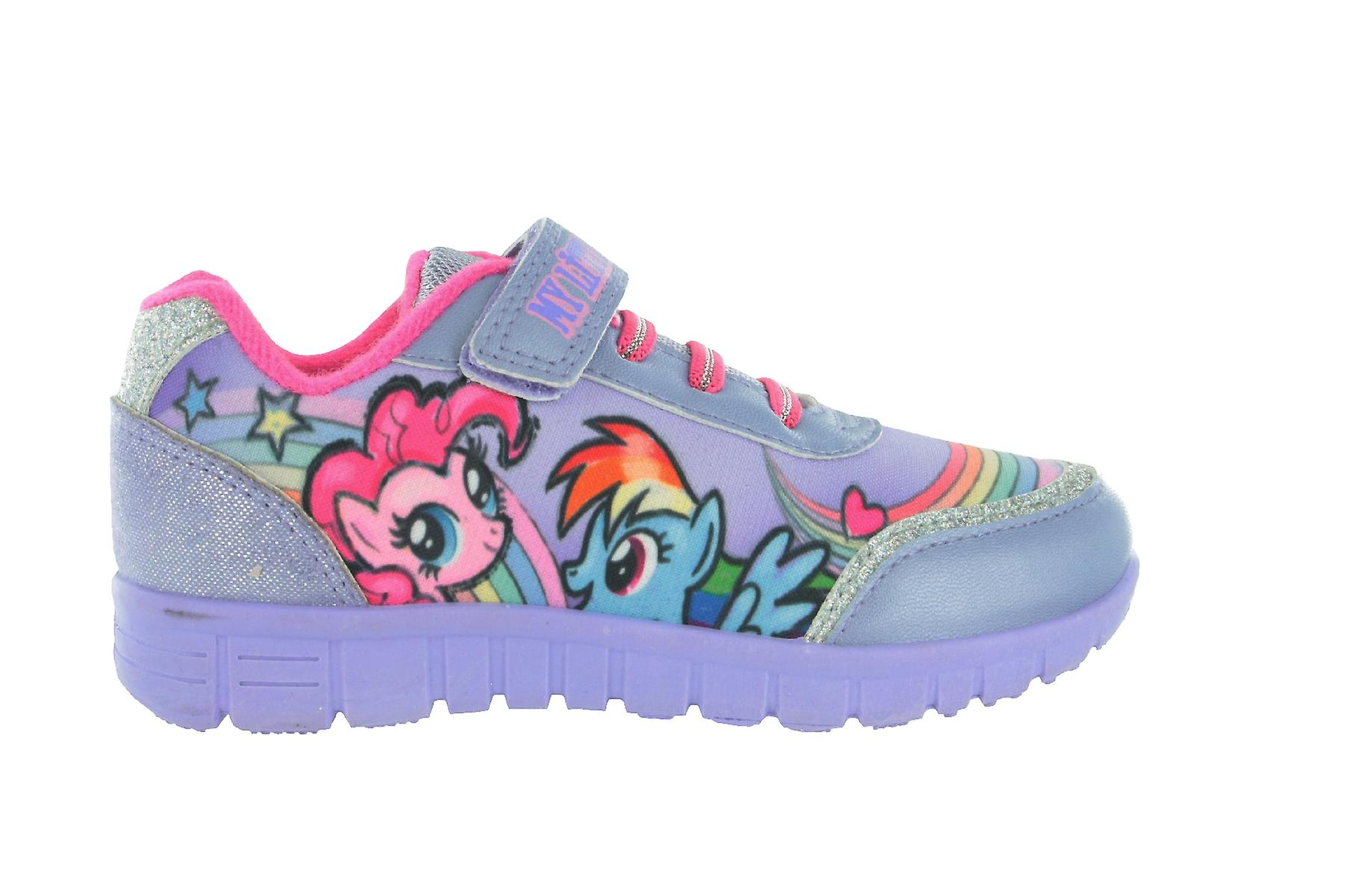 Girls MLP My Little Pony Lilac Trainers
