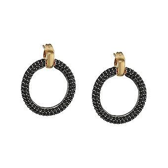 Pendientes ESPRIT mujer oro Zirkonia Peribess-negro ESER02690D000