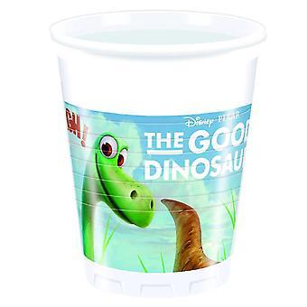 De goede dinosaurus Dino Arlo & plek partij Cup drinken bekers 200ml 8 stuk kinderen verjaardag thema party