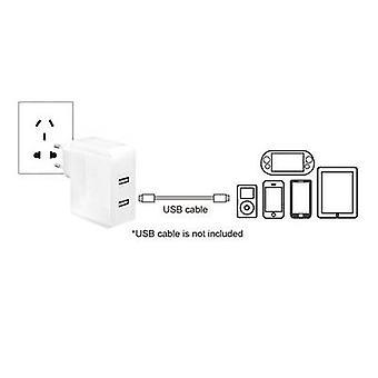 LogiLink PA0094 PA0094 USB lader stopcontact socket Max. uitvoer huidige 3400 mA 2 x USB