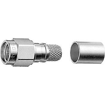 Telegärtner J01150A0618 SMA connector Plug, straight 50 Ω 1 pc(s)