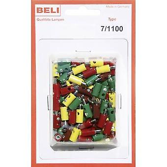 BELI-BECO 7/1100 Mini jack plug Pin diameter: 2.6 mm 1 Set