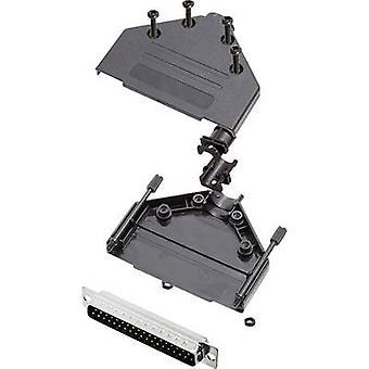 encitech DTPK-P-37-DMP-K 6355-0033-04 D-SUB PIN strip set 180 ° aantal pinnen: 37 soldeer emmer 1 set