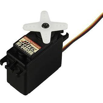 Hitec Standard servo HS-5485HB Digital servo Gear box material: Carbonite Connector system: JR