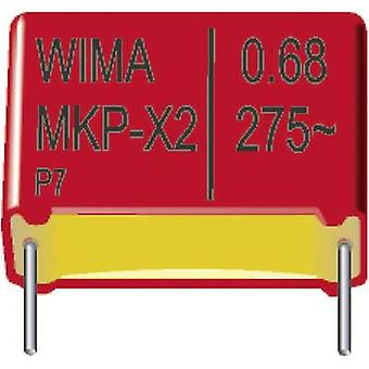 Wima MKX21W21503F00KSSD 1 pc(s) MKP-X2 suppression capacitor Radial lead 0.015 µF 275 V AC 10 % 10 mm (L x W x H) 13 x 5 x 11 mm