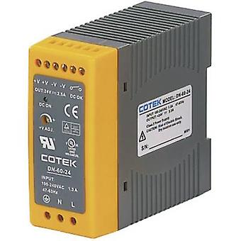 Cotek DN 60-48 Rail mounted PSU (DIN) 48 V DC 1.25 A 60 W 1 x