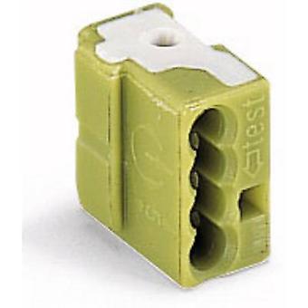 WAGO 243-724 Connector clip flexible: - rigid: 0.5-1 mm² 1 pc(s) Light green