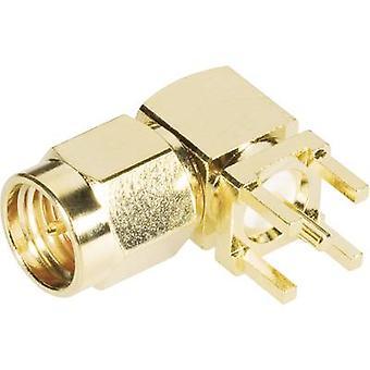 BKL Electronic 0409060 SMA connecteur Plug, monture horizontale 50 '1 pc(s)