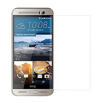 HTC One M9+ Displayschutzfolie 9H Verbundglas Panzer Schutz Glas Tempered Glas